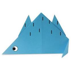 简单恐龙的折法大全 儿童折纸恐龙折纸图