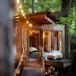 让你与儿时梦想更靠近了一点的梦幻大自然树屋