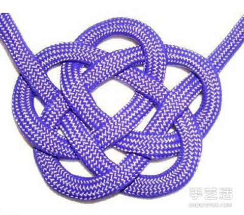 驅魔護身繩結:雲結和所羅門印結的編法圖解