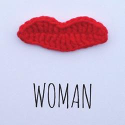 钩针编织胡子和嘴唇的图纸 有点搞怪的感