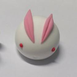 超轻粘土兔子制作教程 小兔子超轻粘土