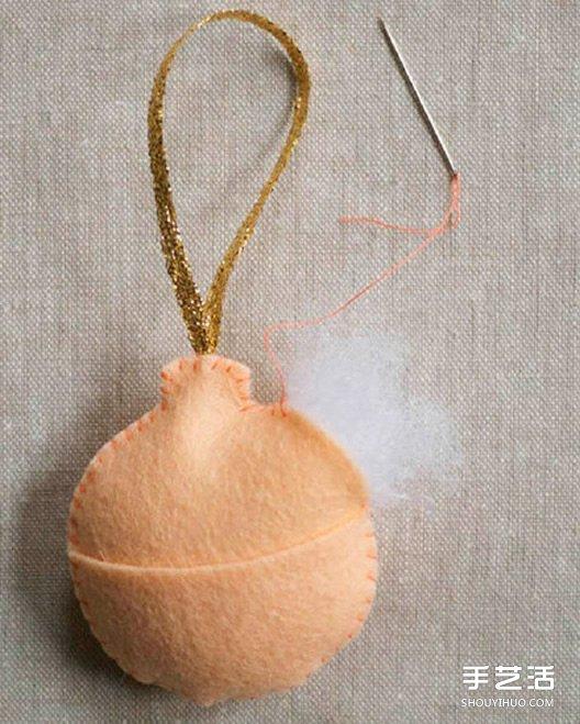 不織布小飾品DIY製作 簡單布藝掛件手工製作