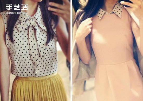 寬大舊襯衫改裙子的方法 舊襯衫改造裙子DIY