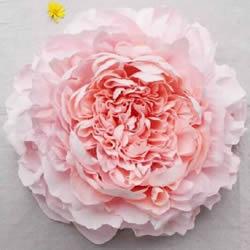 大型皱纸花的做法步骤 手工皱纸花的折法