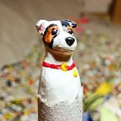 精细的蜡笔雕刻作品 让人抢着收藏的手工艺