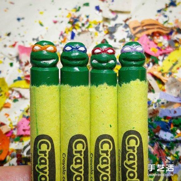 精细的蜡笔雕刻作品 让人抢着收藏的手工艺 -  www.shouyihuo.com