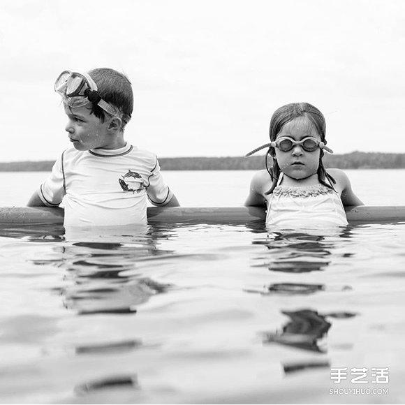 媽媽用有愛的照片紀錄孩子們的純真童年