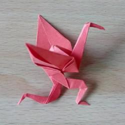 折纸猥琐鹤的方法图解 猥琐鹤的折法步骤