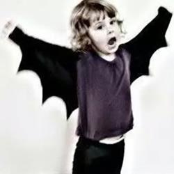 蝙蝠侠披风制作方法 吸血鬼蝙蝠翅膀披风DIY