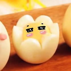 超卡哇伊水煮蛋料理 花朵蛋萌到让人舍不得吃