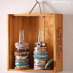 简单又实用的首饰饰品收纳方法创意DIY