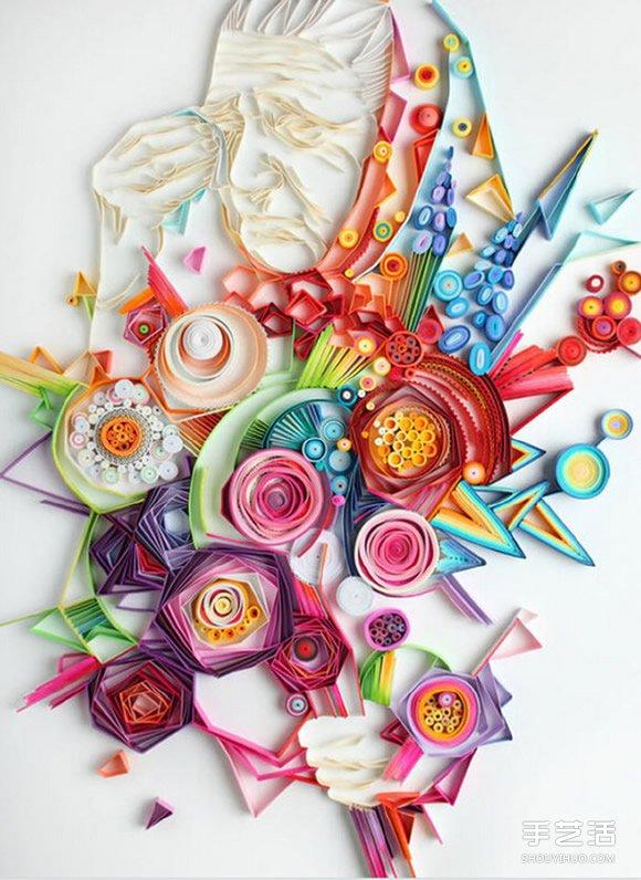 美呆了的衍纸工艺品图片 奇妙的衍纸艺术 -  www.shouyihuo.com