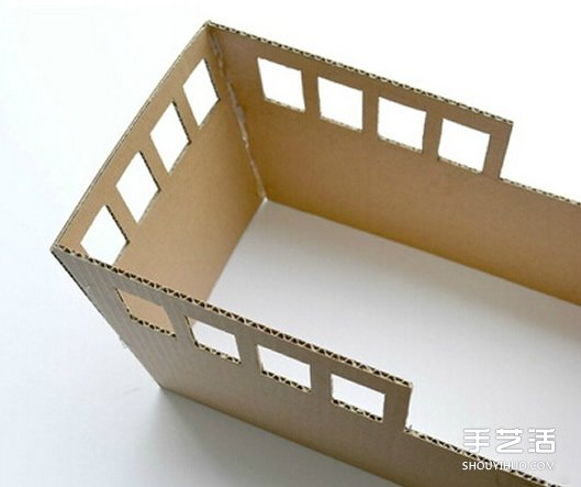 瓦楞紙海盜船手工製作 兒童玩具船模型DIY方法
