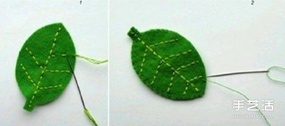不织布小饰品制作教程 手工布艺小装饰品DIY