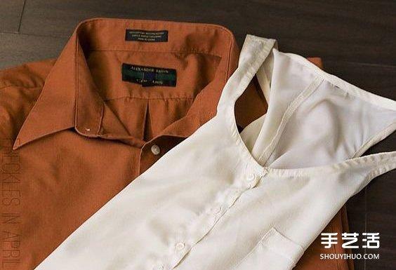 舊衣服改造連衣短裙圖解教程 簡約時尚又簡單