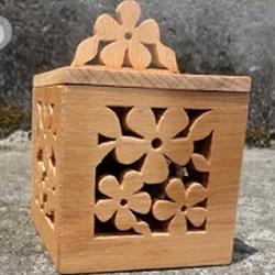 木头盒子制作方法 镂空带盖木盒的做法图解