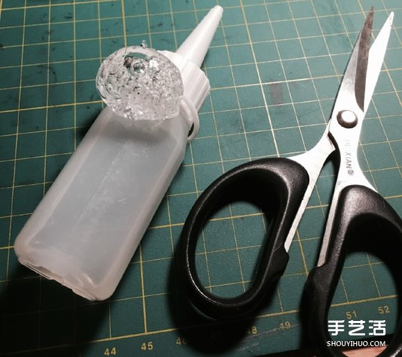 幹掉的膠水手工製作戒指 超有創意的變廢為寶