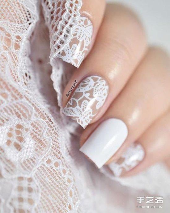 美到冒泡的婚禮美甲設計 從細節妝點自己!