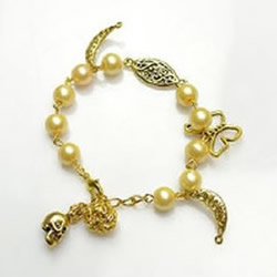 新娘珍珠手链DIY 自制适合新娘佩戴珍珠手链