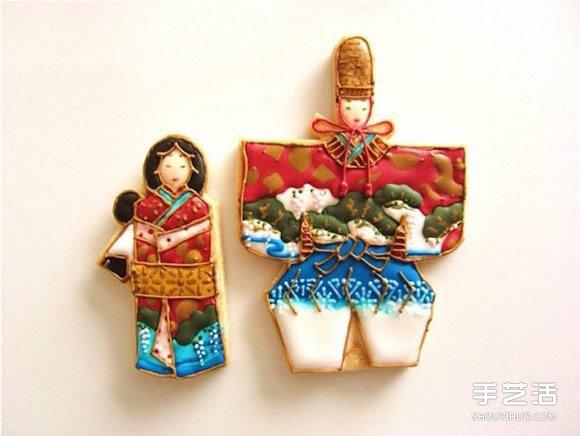 极美糖霜饼干 细致到不说我以为是雕塑作品