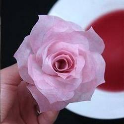大气牡丹花的制作方法 餐巾纸做牡丹纸花