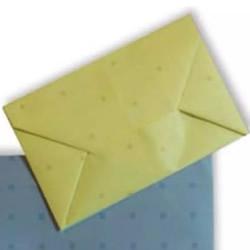 普通信封怎么折图解 简单信封的折法步骤图