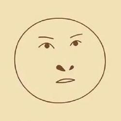 尔康表情简笔画的画法搞笑尔康表情简笔画 手艺活网