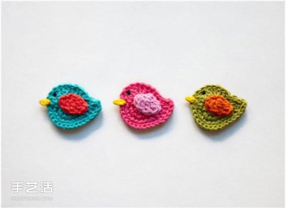 鉤針編織迷你小物圖片 手工鉤針小物作品欣賞