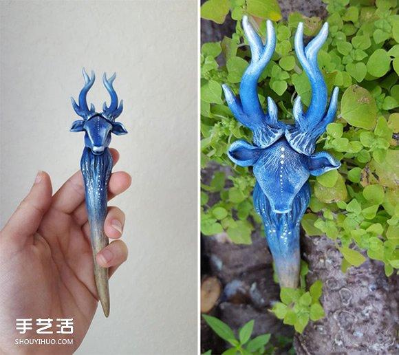 妖精的寶藏!用粘土與自然元素DIY魔幻珠寶