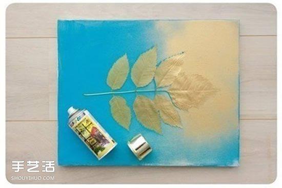 简单装饰画DIY图片 手工制作装饰画的教程 -www.shouyihuo.com