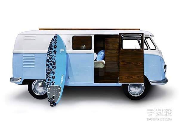 夢幻露營巴士床 在房間中也能旅行不停歇!