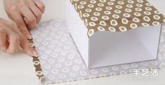 家居收納盒製作方法 自製家用收納盒DIY教程