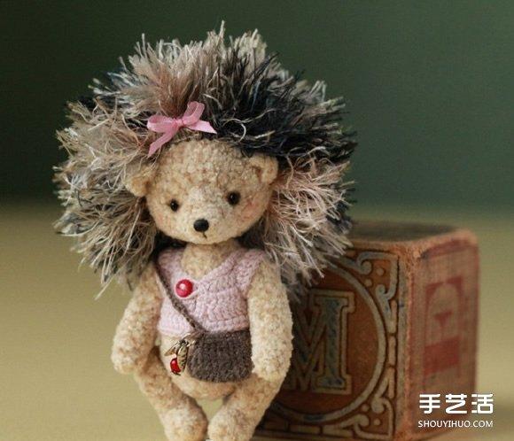 超袖珍羊毛氈小動物作品 讓你忍不住想抱它