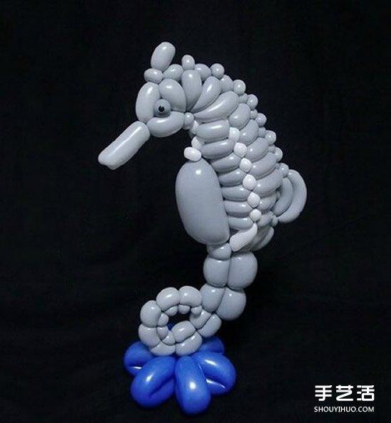 精致细腻的气球造型作品图片 让人赞叹不已! -  www.shouyihuo.com