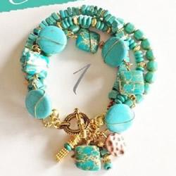 繁复的串珠手链DIY教程 民族风串珠手链制作