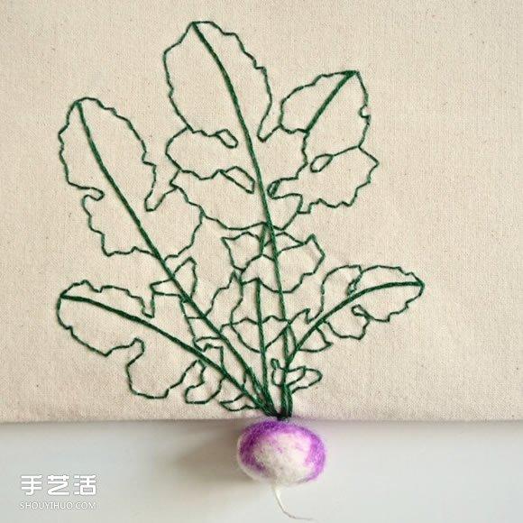精美刺绣作品:巧手让针线活跳出刺绣圈架 -  www.shouyihuo.com