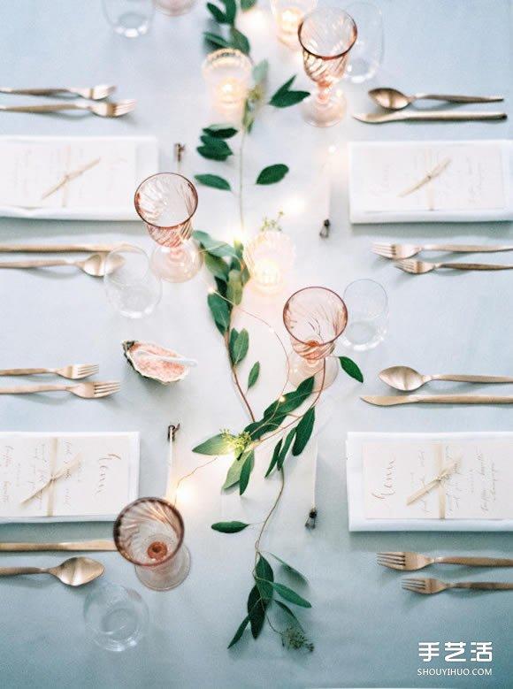 極簡婚禮:15個好點子教你打造完美簡約婚禮