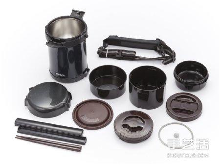 低調帥氣的黑色飯盒 帶便當也可以這麼有型!