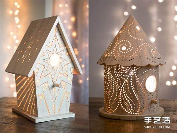 居家的浪漫燈塔!點亮黑夜的的童話木燈設計
