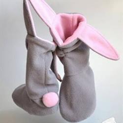 手工布艺宝宝靴子图纸 婴儿靴子的做法教程