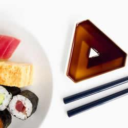 小碟子里的维度空间 超有层次感的酱油碟