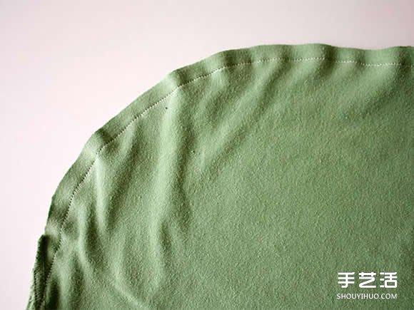 舊T恤改造網眼袋的方法 DIY網眼袋製作教程