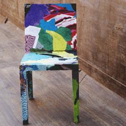 利用旧衣服制作椅子 用淘汰衣服做的椅子
