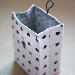不织布礼品袋DIY教程 手工布艺礼品袋制作图解