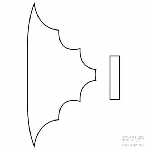 萬聖節黑蝙蝠發箍DIY 手工布藝蝙蝠髮飾製作