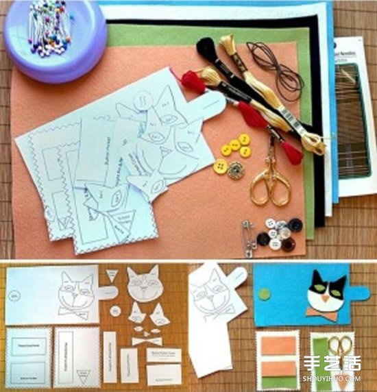 不織布工具包手工製作 自製工具布包的教程