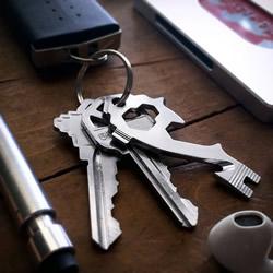 无缝接轨混进钥匙圈 20合一工具钥匙MSTR KEY