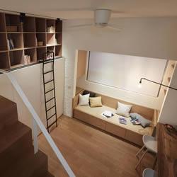 空间小也住得舒适!舒服又温馨的小户型家居