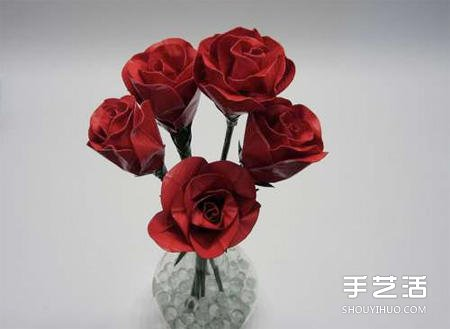 不尋常材質製作而成的玫瑰花 不但好看還好吃