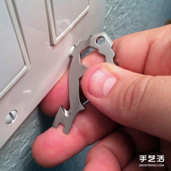 無縫接軌混進鑰匙圈 20合一工具鑰匙MSTR KEY
